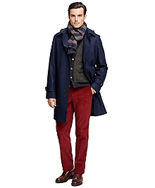 Double-Face Duffle Topcoat
