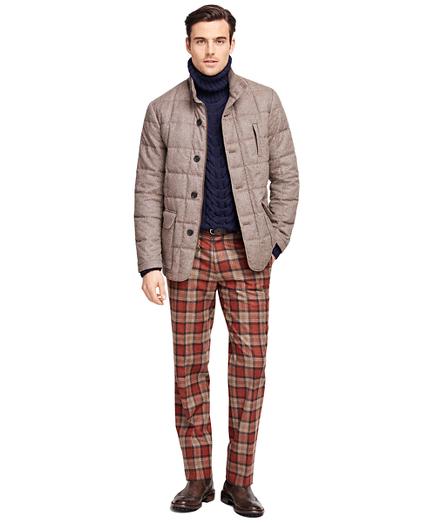 Tweed Quilted Jacket