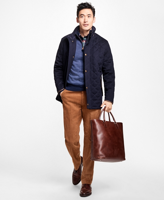 BrooksStorm® Quilted Walking Coat
