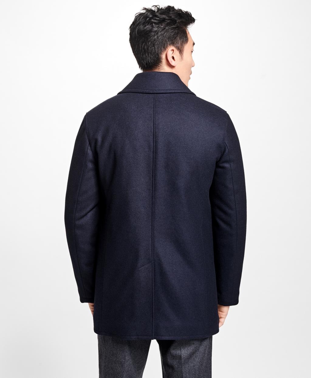 Iconic Wool Pea Coat - Brooks Brothers