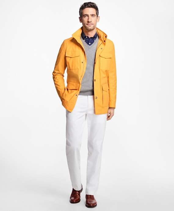 Waxed Field Jacket Yellow