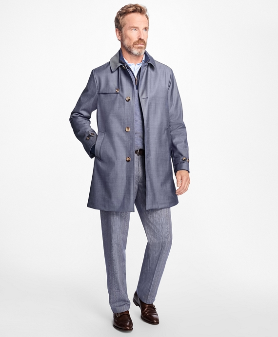 Sport Trench Coat Blue