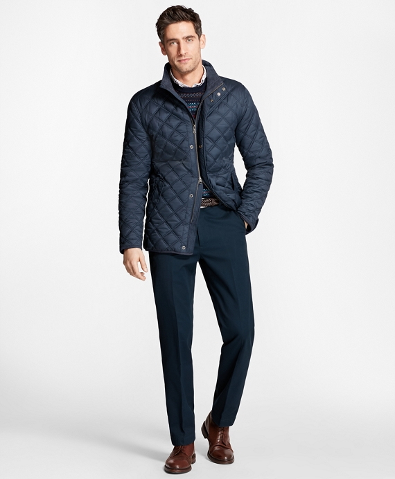 Quilted Walking Coat