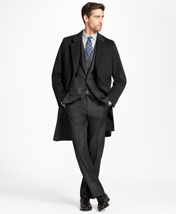 BrooksStorm® Long Town Coat Charcoal