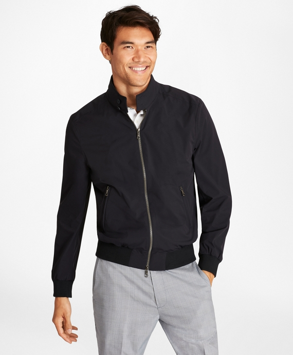 Ultra-Light Stretch Bomber Jacket Navy