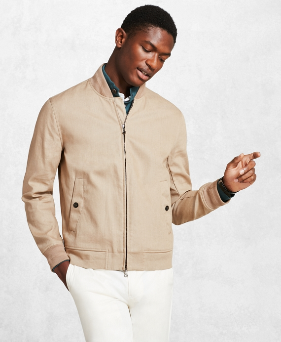 Golden Fleece® Linen Bomber