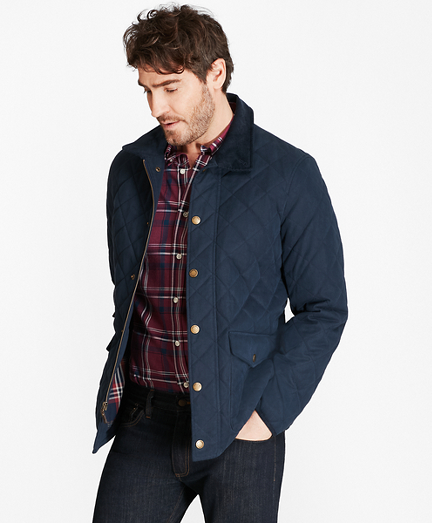 Quilted Field Coat