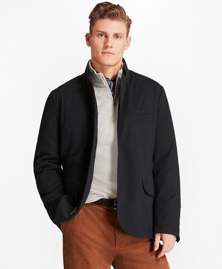 Nylon Hybrid Jacket