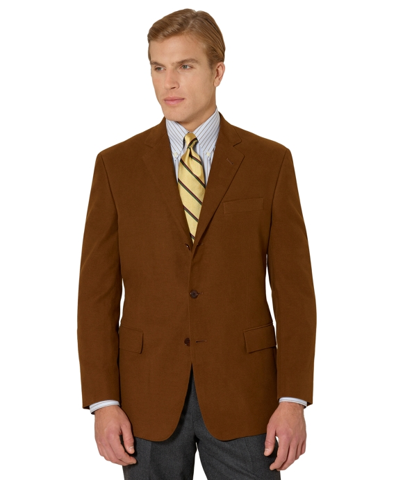 Regent Fit Moleskin Sport Coat Tan