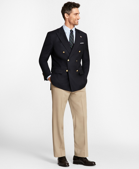 Men's Country Club Saxxon Wool Double-Breasted Blazer | Brooks ...