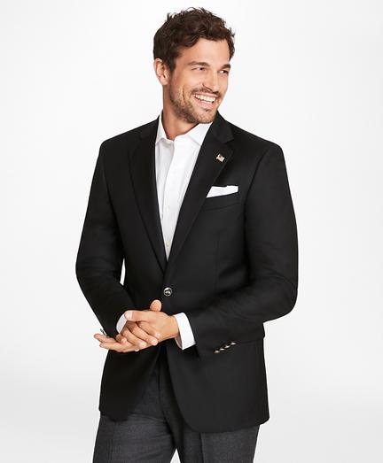 Country Club Saxxon Wool Two-Button Blazer