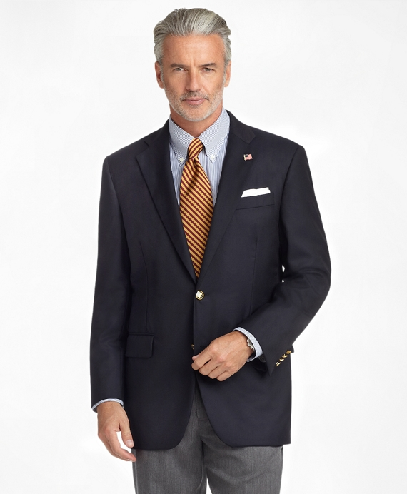 Madison Fit Golden Fleece® Saxxon Wool Reserve Blazer Navy