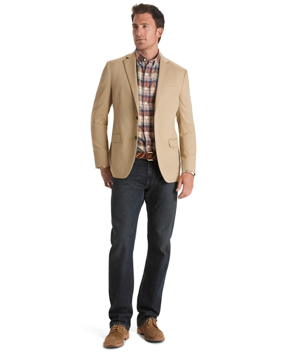 Fitzgerald Fit Soft Cotton Sport Coat - Brooks Brothers