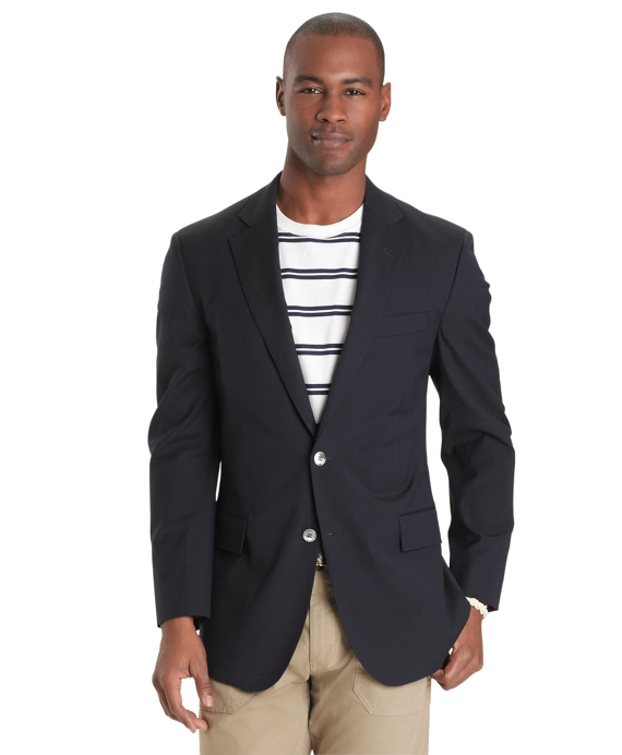 Regent Fit Ultimate Travel Blazer Navy