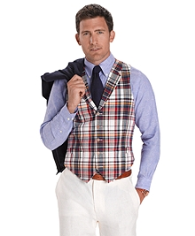 Five-Button Madras Vest
