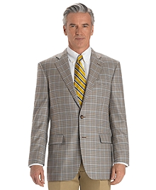 Madison Fit Two-Button Check Sport Coat