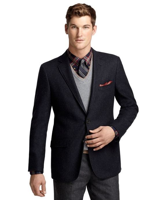 Fitzgerald Fit Two-Button Twill Sport Coat Navy