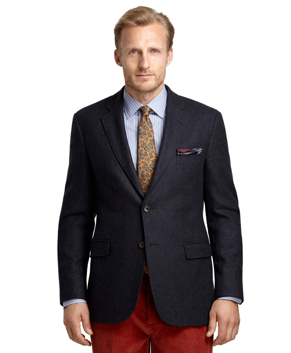 Madison Fit Navy Twill Sport Coat Navy