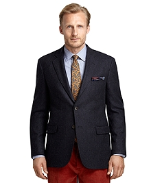 Madison Fit Navy Twill Sport Coat