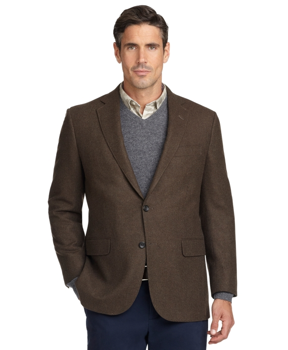 Madison Fit Twill Sport Coat Olive