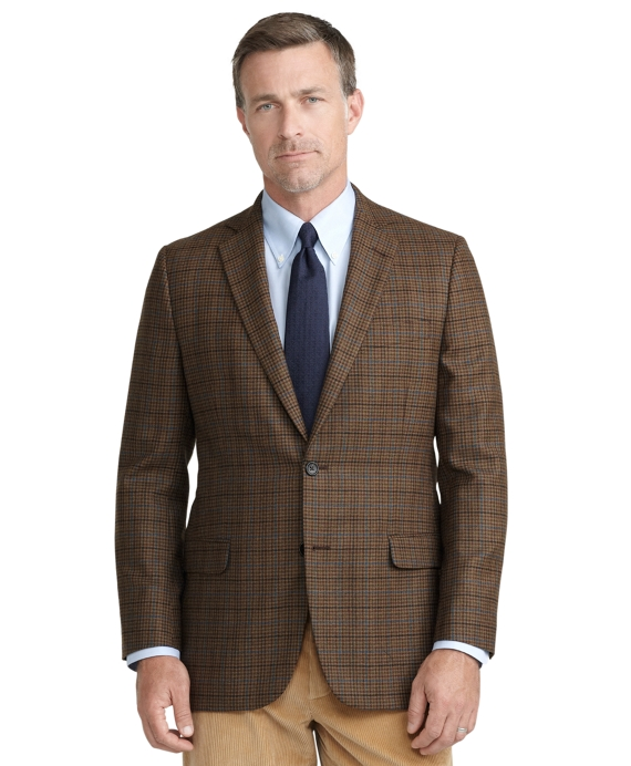 Fitzgerald Fit Check with Deco Sport Coat Brown