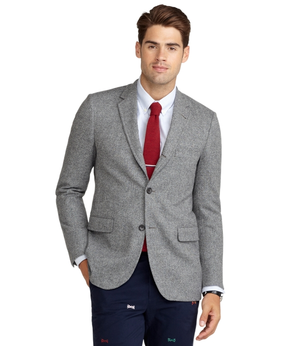 Cambridge Donegal Sport Coat Black-White