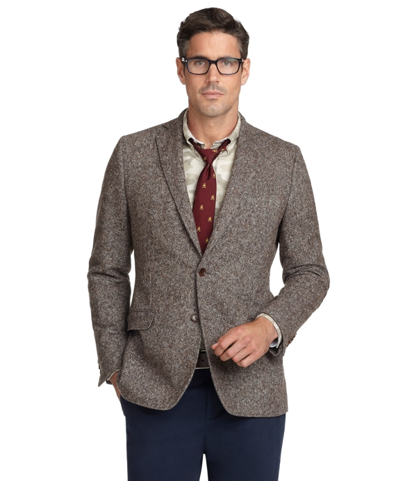 Fitzgerald Fit Donegal Sport Coat Brown