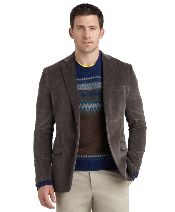 Fitzgerald Fit Relaxed Corduroy Sport Coat - Brooks Brothers