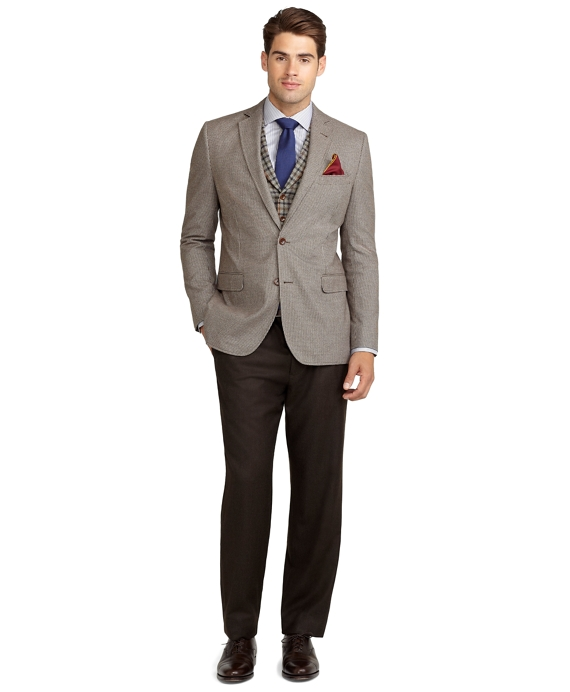 Fitzgerald Fit Houndstooth Sport Coat - Brooks Brothers