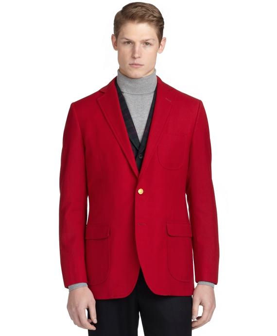 Fitzgerald Fit Social Primer Tailgate Blazer Red