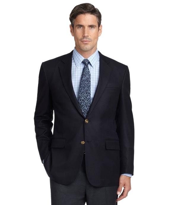 Golden Fleece® Madison Fit Hopsack Blazer Navy