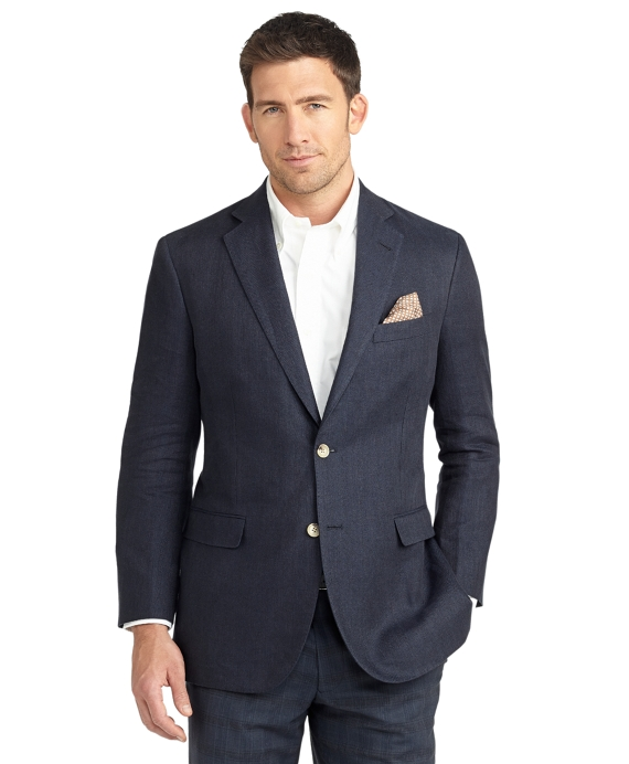 Madison Fit Two-Button Linen Sport Coat - Brooks Brothers