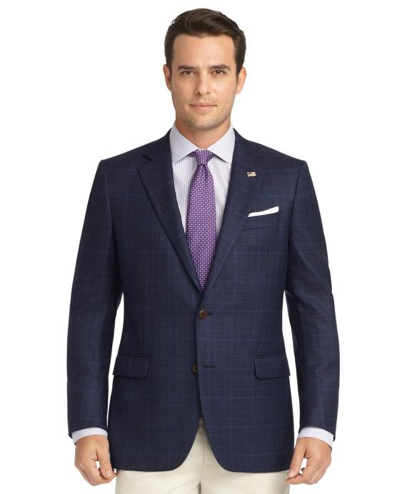 Fitzgerald Fit Plaid Saxxon Wool Sport Coat - Brooks Brothers