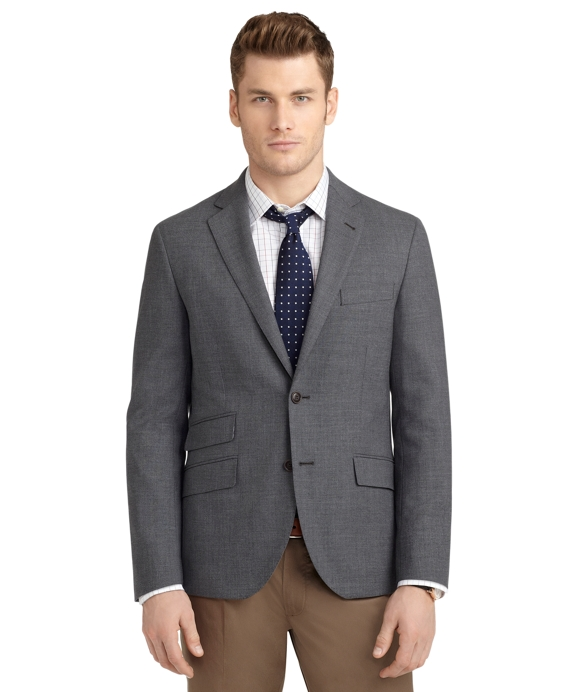 Milano Fit Melange Sport Coat Grey