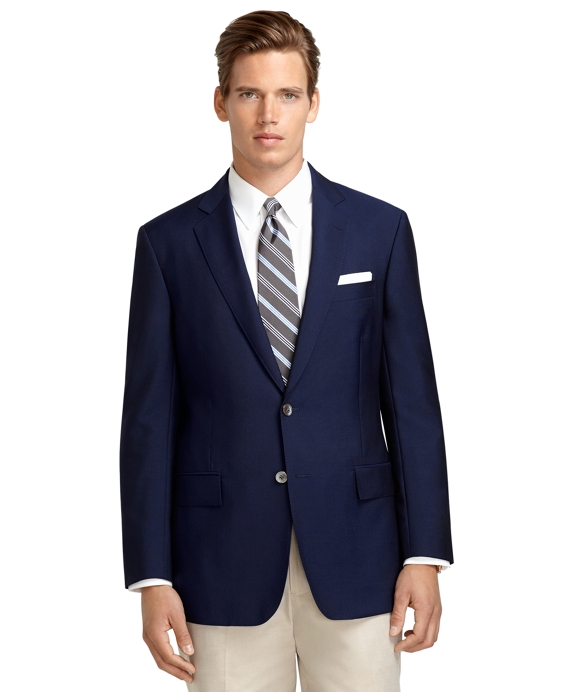 Regent Fit High Performance Blazer Navy