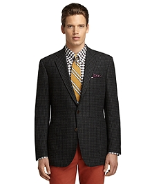 Regent Fit Grey Check Sport Coat