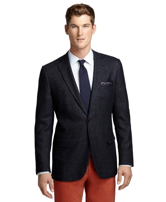 Fitzgerald Fit Denim, Wool and Silk Sport Coat Navy