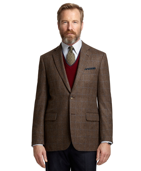 Madison Fit Herringbone with Deco Sport Coat Taupe