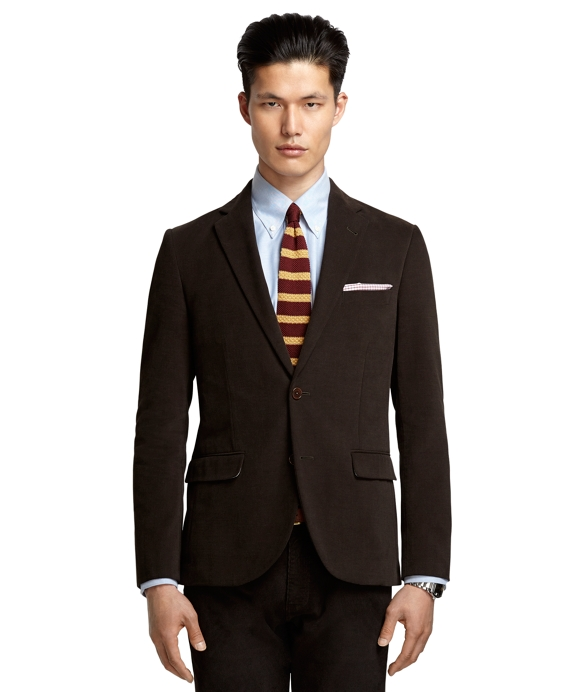 Milano Fit Brushed Twill Olive Sport Coat Olive