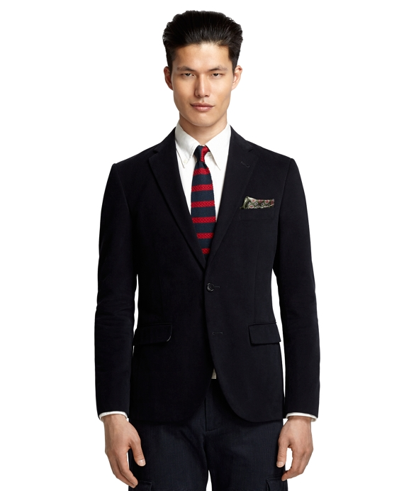 Milano Fit Brushed Twill Navy Sport Coat Navy