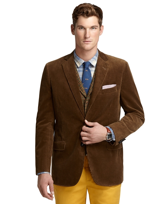 Fitzgerald Fit Corduroy Sport Coat Light Brown