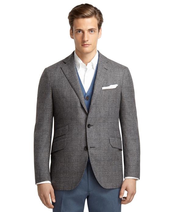 Plaid Jacket Grey