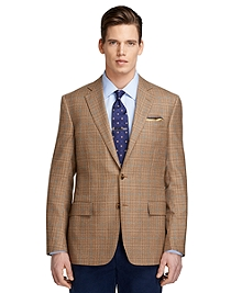 Regent Fit Plaid with Soft Blue Deco Sport Coat
