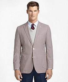 Fitzgerald Fit Mini Check Super-Soft Sport Coat