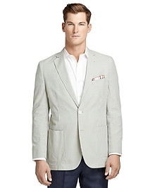 Fitzgerald Fit Vintage Green Seersucker Sport Coat