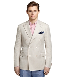 Cream Herringbone Sport Coat
