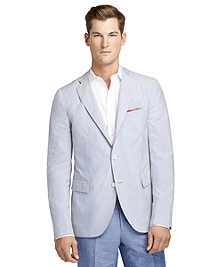 Seersucker Stripe Sport Coat