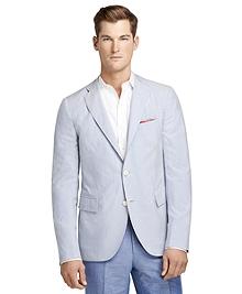 Seersucker Stripe Sport Coat