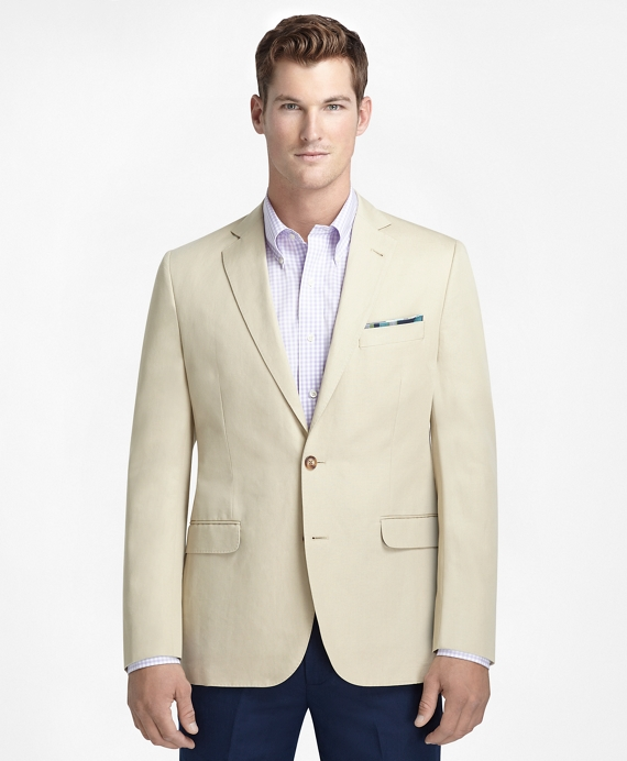 Fitzgerald Fit Cotton and Linen Sport Coat Tan