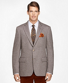 Regent Fit Brown Wool Sport Coat